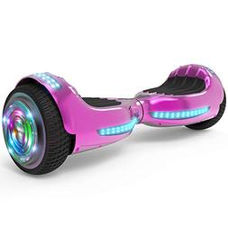 "Hoverboard UL 2272 Certified Flash Wheel 6.5"" Bluetooth Spea"