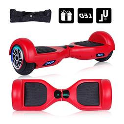 "Keepower Hoverboard UL 2272 Certified Flash Wheel 6.5"" Hover"