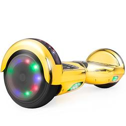 WorryFree Gadgets Hoverboard UL 2272 Certified Light-up Whee