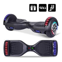 Keepower Hoverboard UL2272 Certified Colorful LED Banner Mar