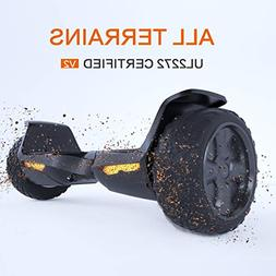 "TOMOLOO Hoverboard UL2272 Certified 8.5"" All Terrain Wheels"
