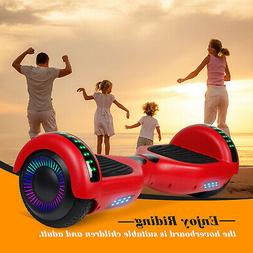 Hoverboards with Bluetooth and LED light UL Electric Self Ba