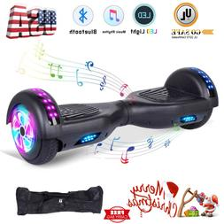 """Hoverboards with Bluetooth and lights 6.5"""" Self Balancing El"""