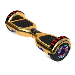 """WorryFree Gadgets 6.5"""" inch Chrome Hoverboard Electric Smart"""