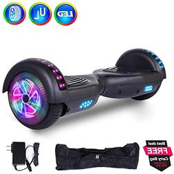 """6.5"""" Inch Hoverboard Self Balancing Scooter Colorful LED Whe"""