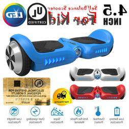 "Kid Hoverboard UL2272 Certified 4.5"" Mini Self Balance 2 Whe"