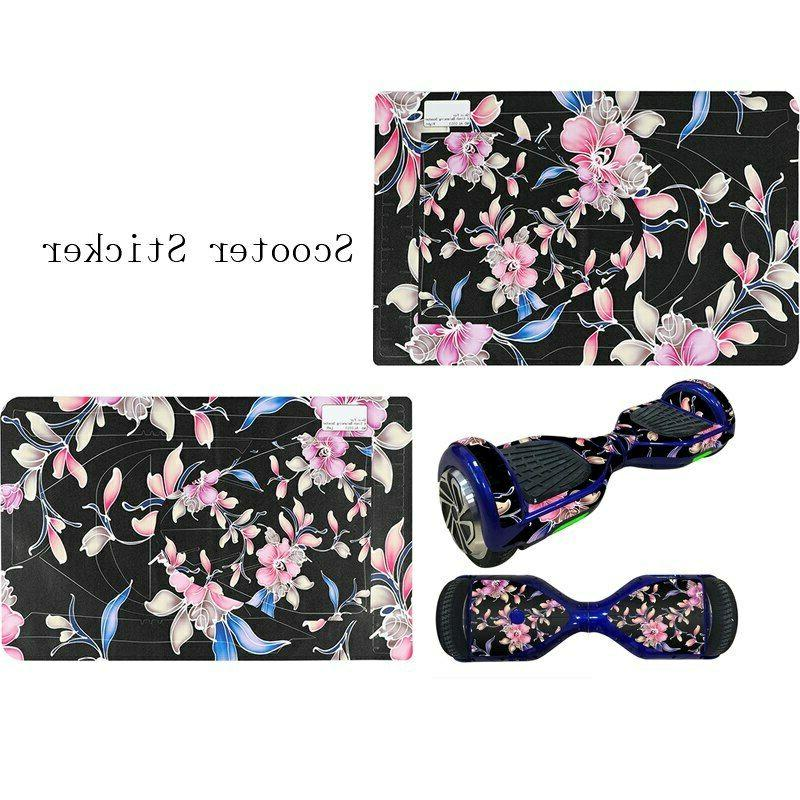 1Set Cool Self Two Scooter Skin Cover Hover Skate Sticker
