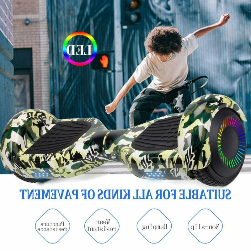 """6.5"""" Hoverboard Chrome Balancing Scooter"""