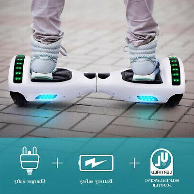 """6.5"""" Hoover Hoverboard Electric Bluetooth Scooter no"""