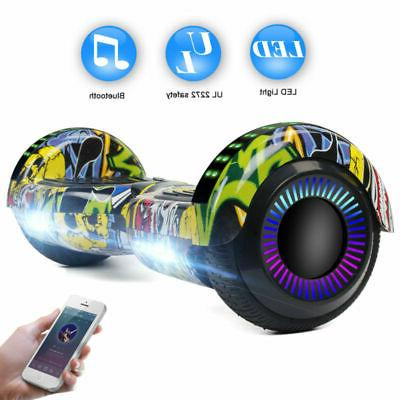 """6.5"""" Hoverboard for Kids Electric LED"""