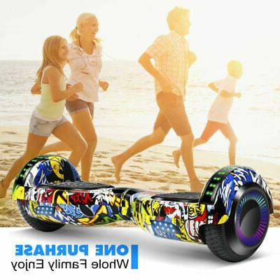 """6.5"""" Bluetooth Hoverboard Kids UL2272 Electric"""