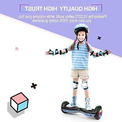 "6.5"" Bluetooth Hoverboard LED Self Balancing UL2272 No Bag"