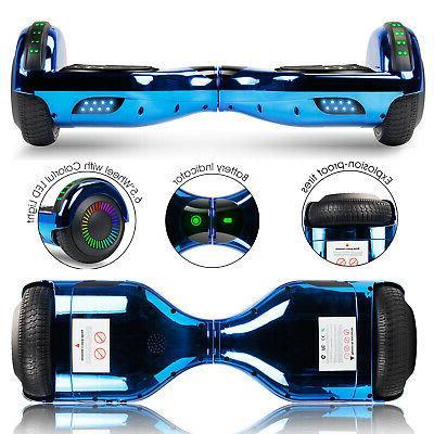 6.5'' Bluetooth Hoverboard Self Balancing Bag Wheels