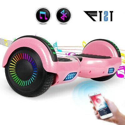 6.5'' Bluetooth Smart Balance Scooter no Bag Fiber