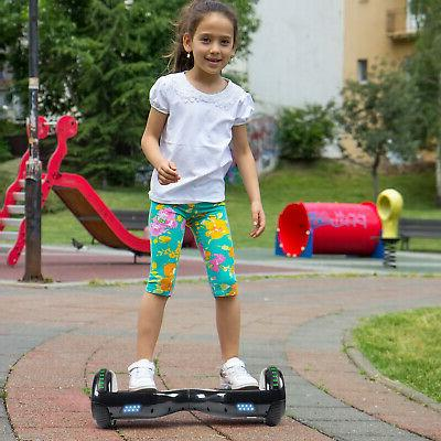 "6.5"" Self 2 Electric Hoverboard UL2272+Led+Bag"