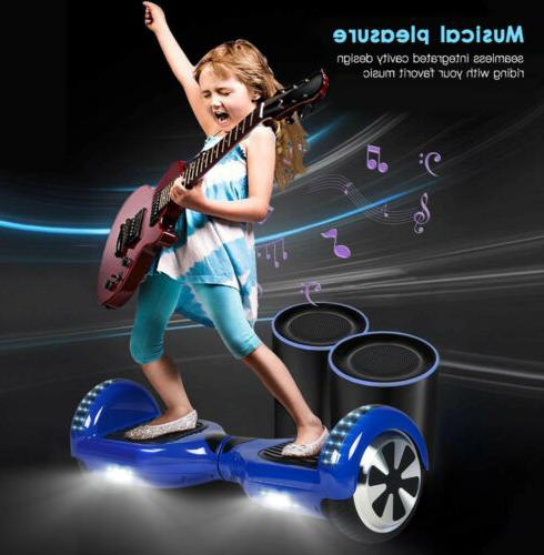 "Bluetooth 6.5"" Self Balancing for Kids UL Certified"