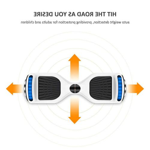 "6.5"" Self Balancing Scooter Smart Hover Safe E-Scooter"