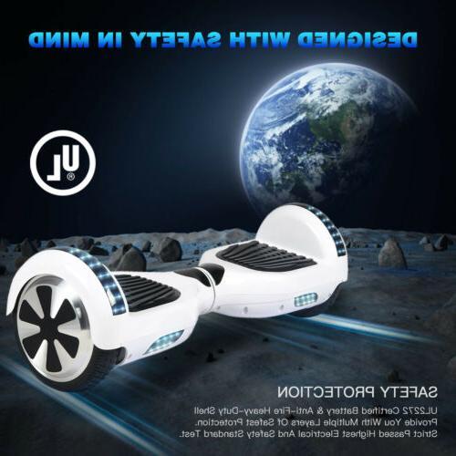 "6.5"" Bluetooth Scooter Smart Hover Safe"