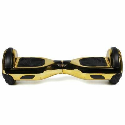 6.5'' Bluetooth Speaker Hoverboard Balancing Hoverheart LED W/ Bag