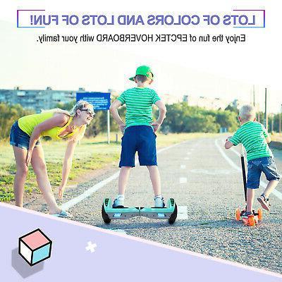 """6.5"""" Bluetooth Hoverboard LED Self Balancing No Bag Green-gray"""