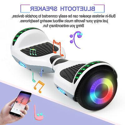 """6.5"""" Bluetooth Scooter Electric Self-Balancing LED NO"""