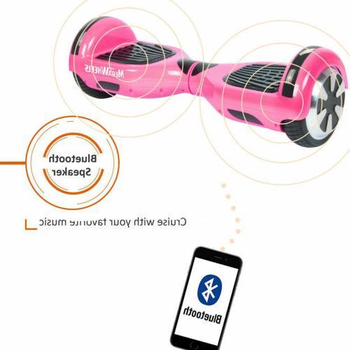 "Megawheels 6.5""Cheap Self Balancing Scooter Bluetooth Gold"