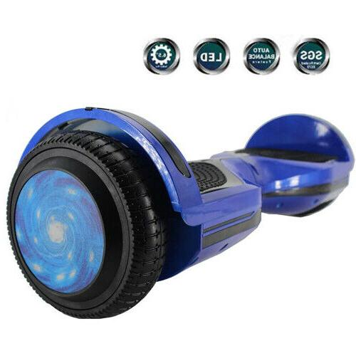 6 5 electric balancing scooter with led