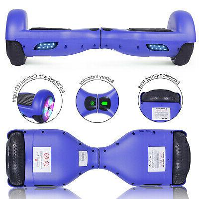 """6.5"""" Electric Hoverboard Wheel Scooter Toy no"""