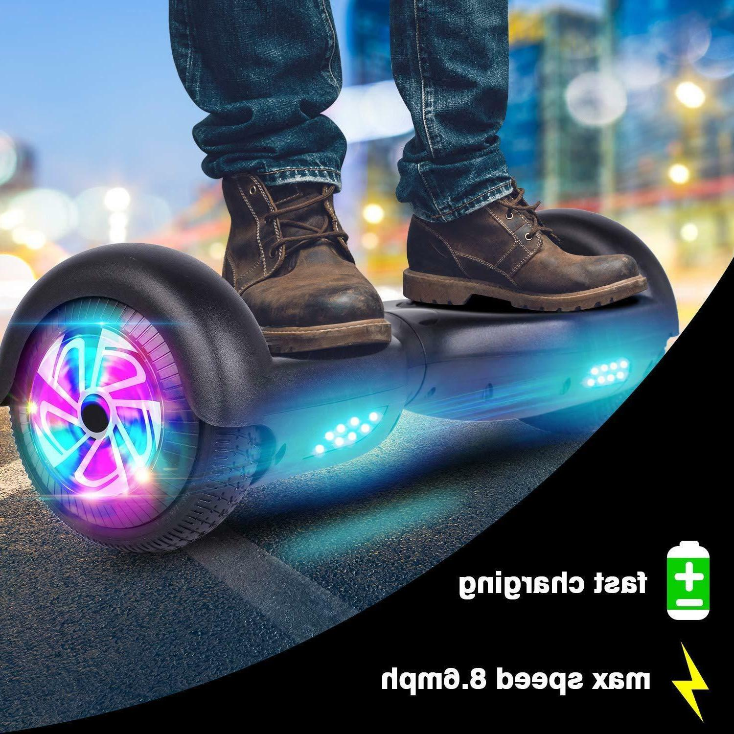 """6.5"""" Bluetooth Electric Scooter Hoverboard Balancing - UL2272"""