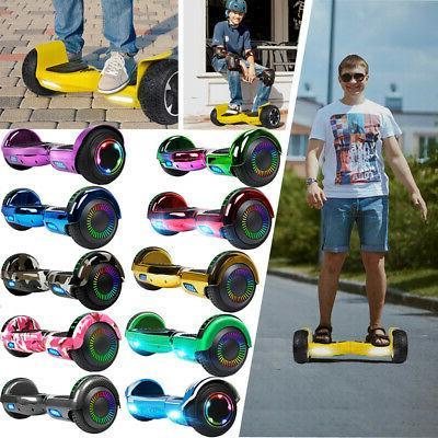 6 5 electric hoverboard self balancing xtremepowerus