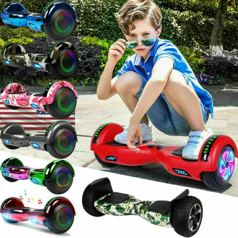 """8.5/6.5"""" Hoverboard 2 Wheel Balance Scooter with"""