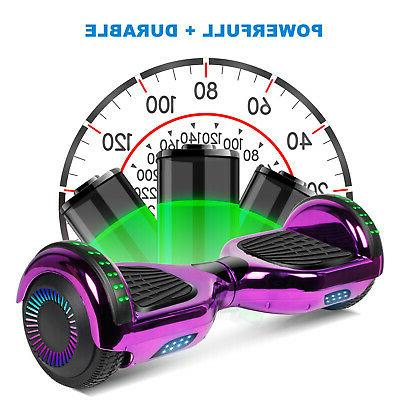 """6.5"""" Hoverboard LED Electric noBag Birthday"""