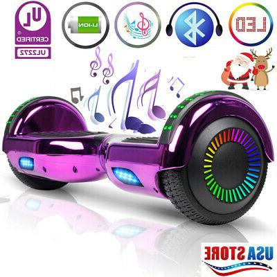 6 5 hoverboard bluetooth led electric self