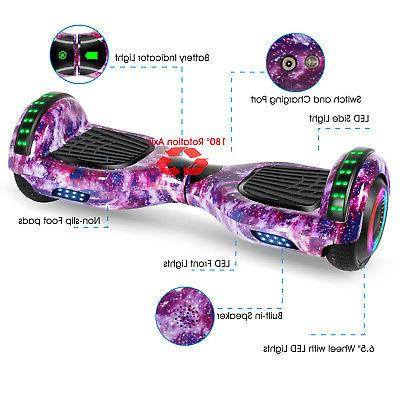 "6.5"" LED Self Scooter no"
