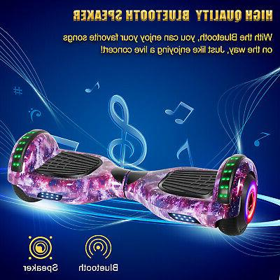 "6.5"" Hoverboard with Bluetooth Self Hover noBag"