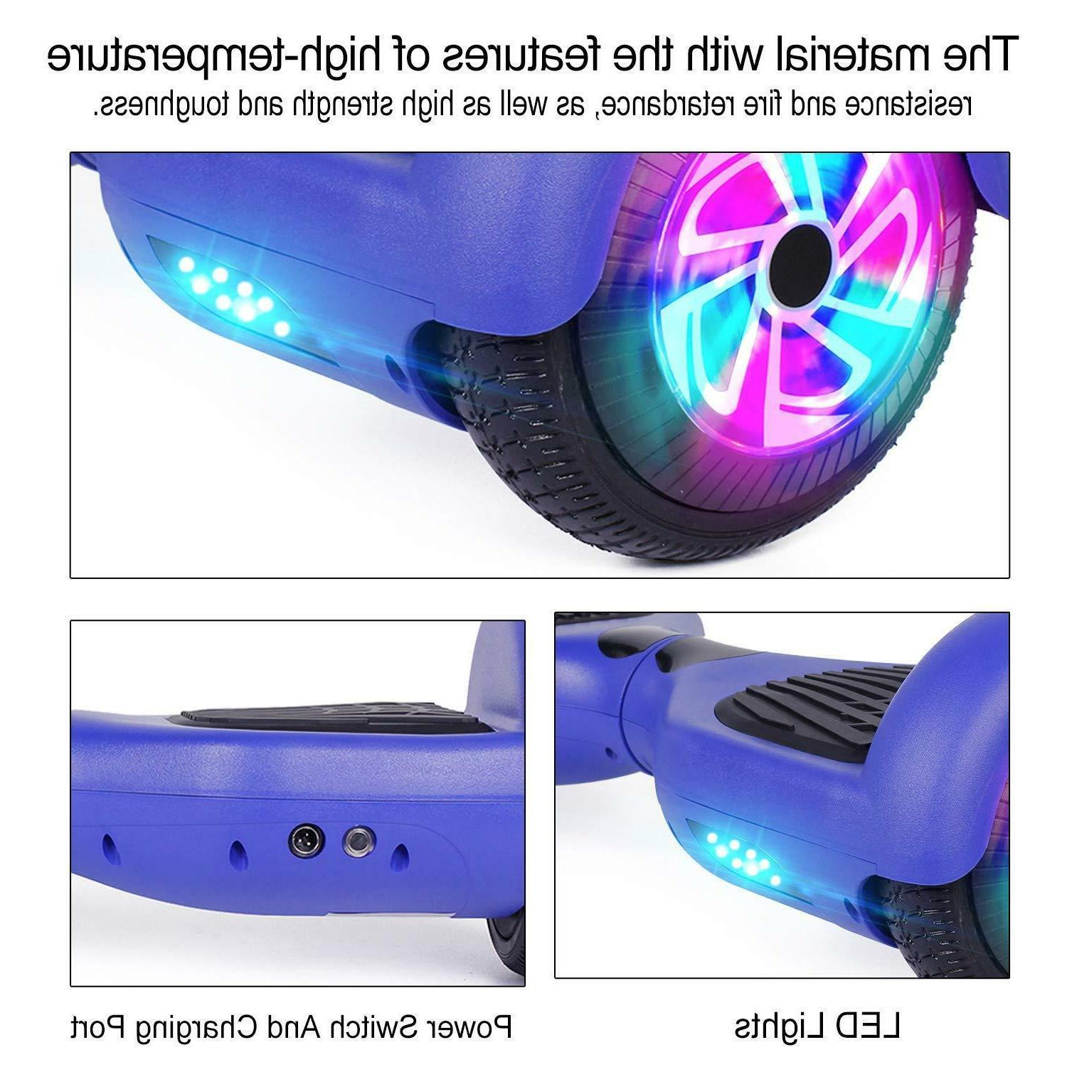 """6.5"""" Hoverboard Electric Self Light Scooter"""