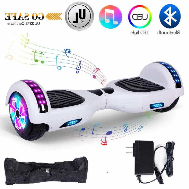 "6.5"" Hoverboard Balancing LED Speaker Scooter"