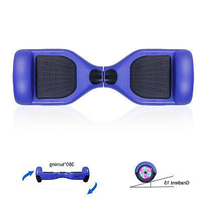"6.5"" Hoverboard Self Balancing Blue Skateboard Wheel UL"