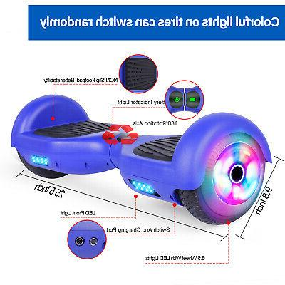 "6.5"" Balancing Blue Skateboard Wheel Bag"