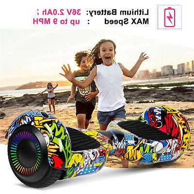 """6.5"""" Hoverboard Sidelights Electric Balance UL2272"""