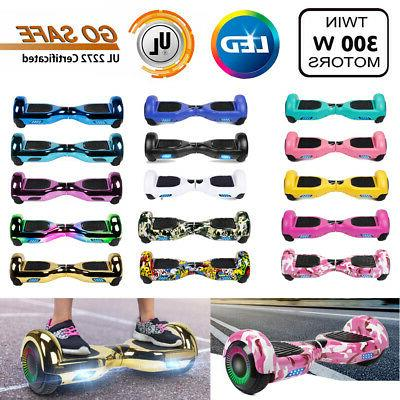 6 5 hoverboard led sidelights electric self