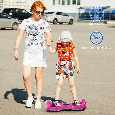 LED Electric Self Scooter UL Certified