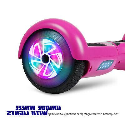 LED Wheels Electric Self Balancing UL