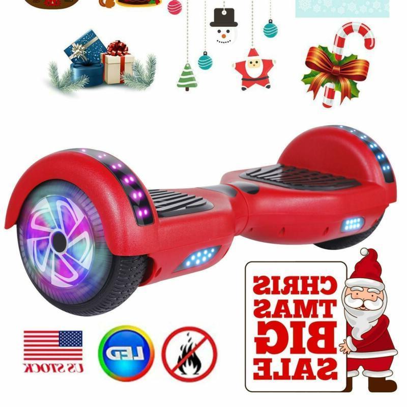 "6.5"" Speaker Hoverboard Swagtron Hover Board Self Scooter"