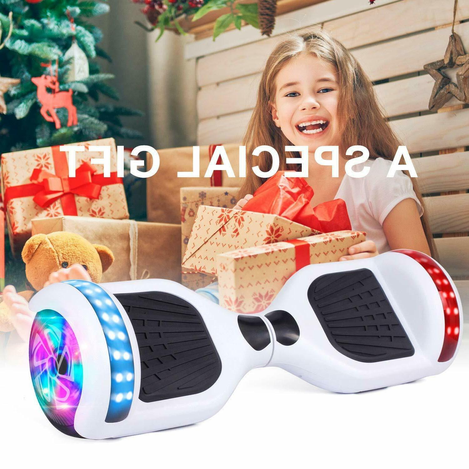 """6.5"""" Bluetooth Swagtron Board Self Scooter LED"""