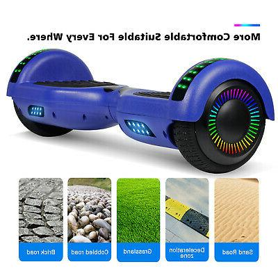 6.5'' Hoverboard With Led Two Wheels Scooter Certified