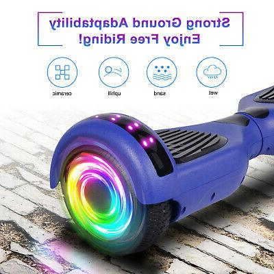 6.5'' Hoverboard With Led Two Wheels Electric Scooter UL Certified New