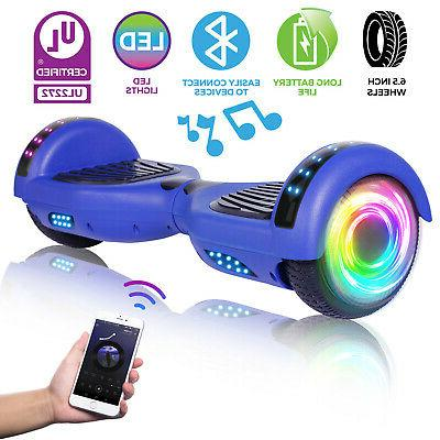 6 5 hoverboard with bluetooth led two