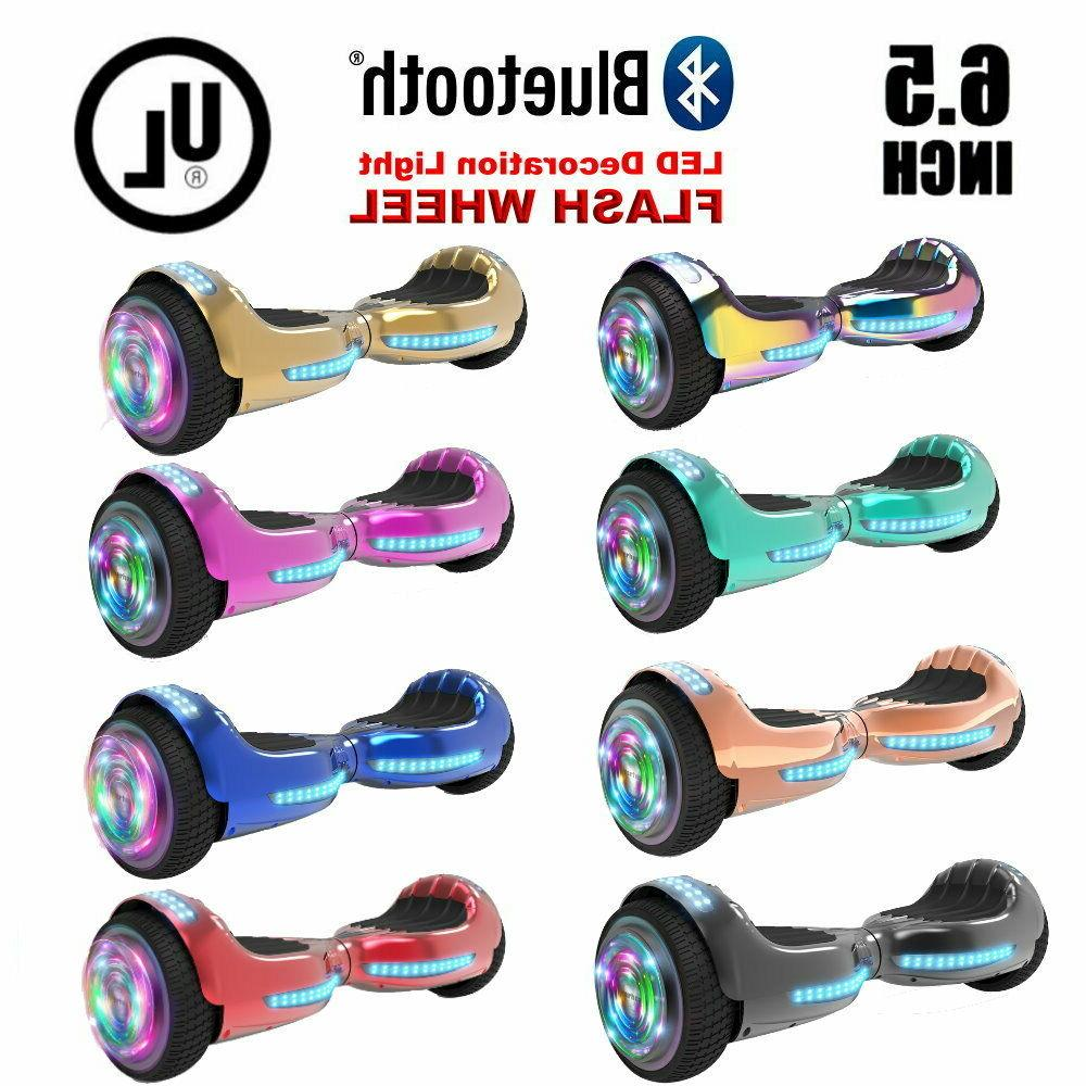 6 5 hoverboard with bluetooth self balance
