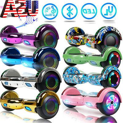 6 5 hoverboard with bluetooth self balancing